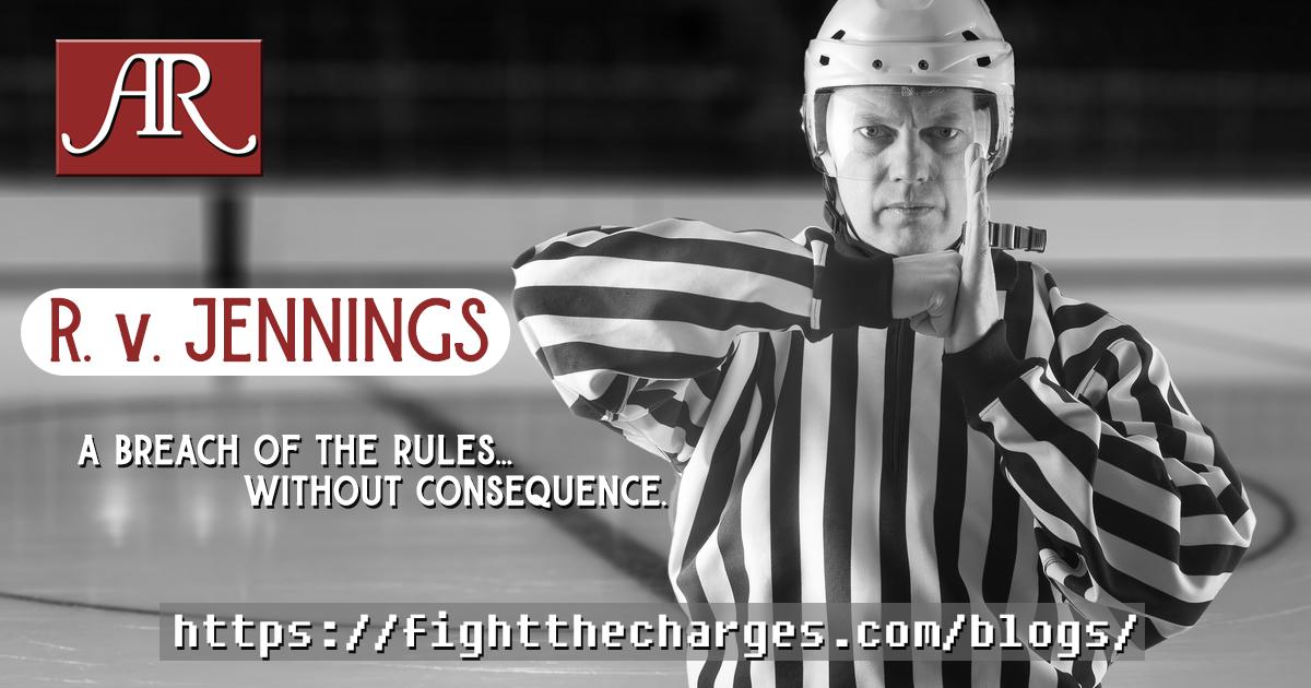 R.v.Jennings.DUI.Defence