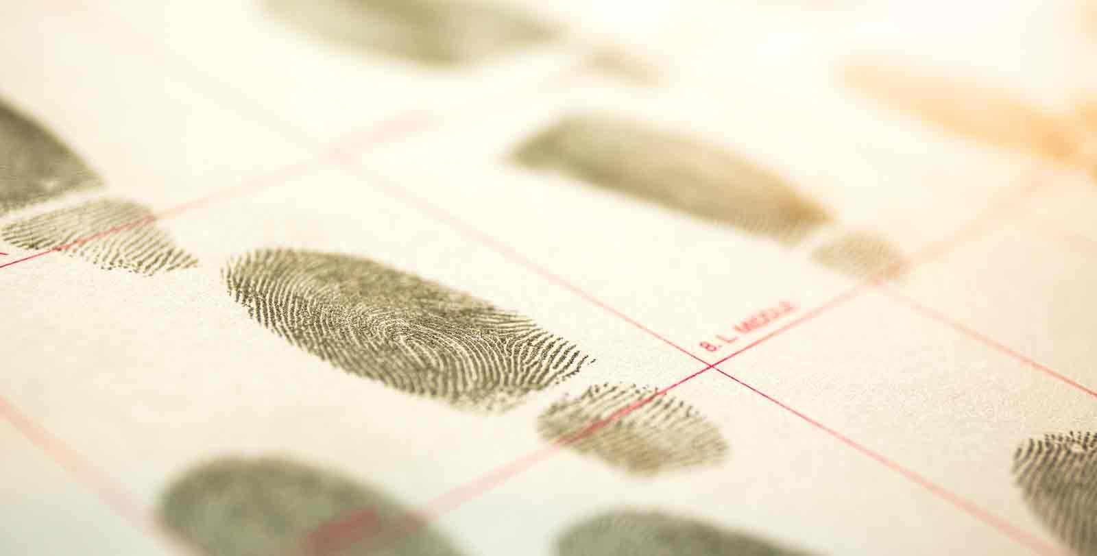 Fingerprint Record