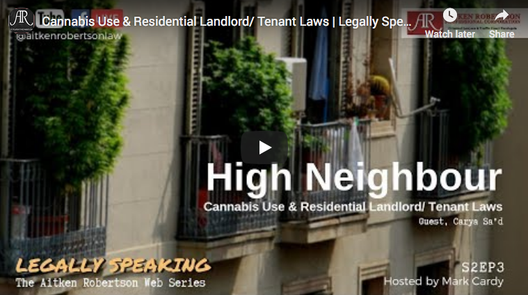 Cannabis and Landlord Laws