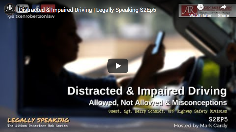 distracted impaired driving